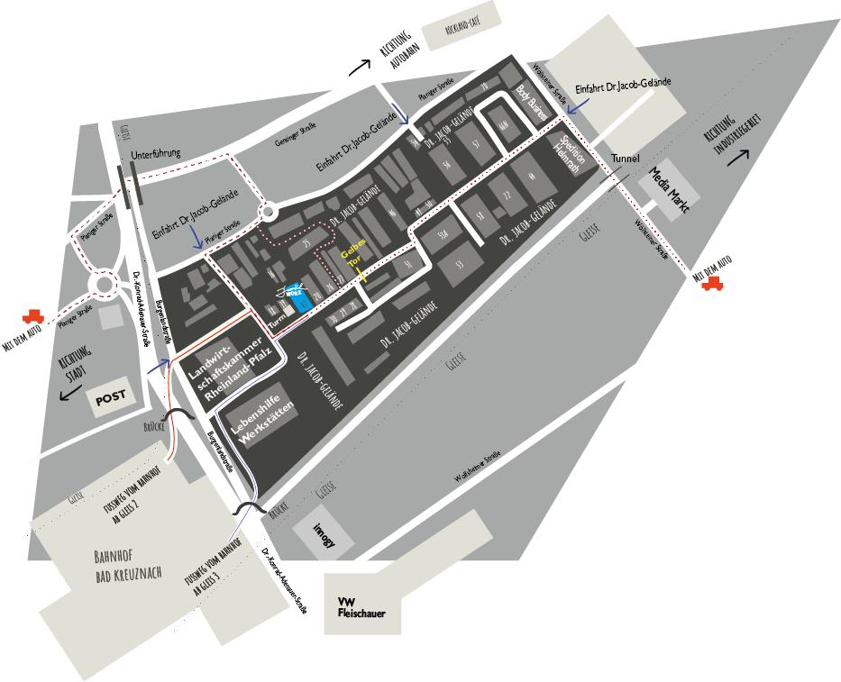 …So findest Du die WORXBASE - joelWORXPlaniger Str. 34, Gebäude 1755543 Bad Kreuznach
