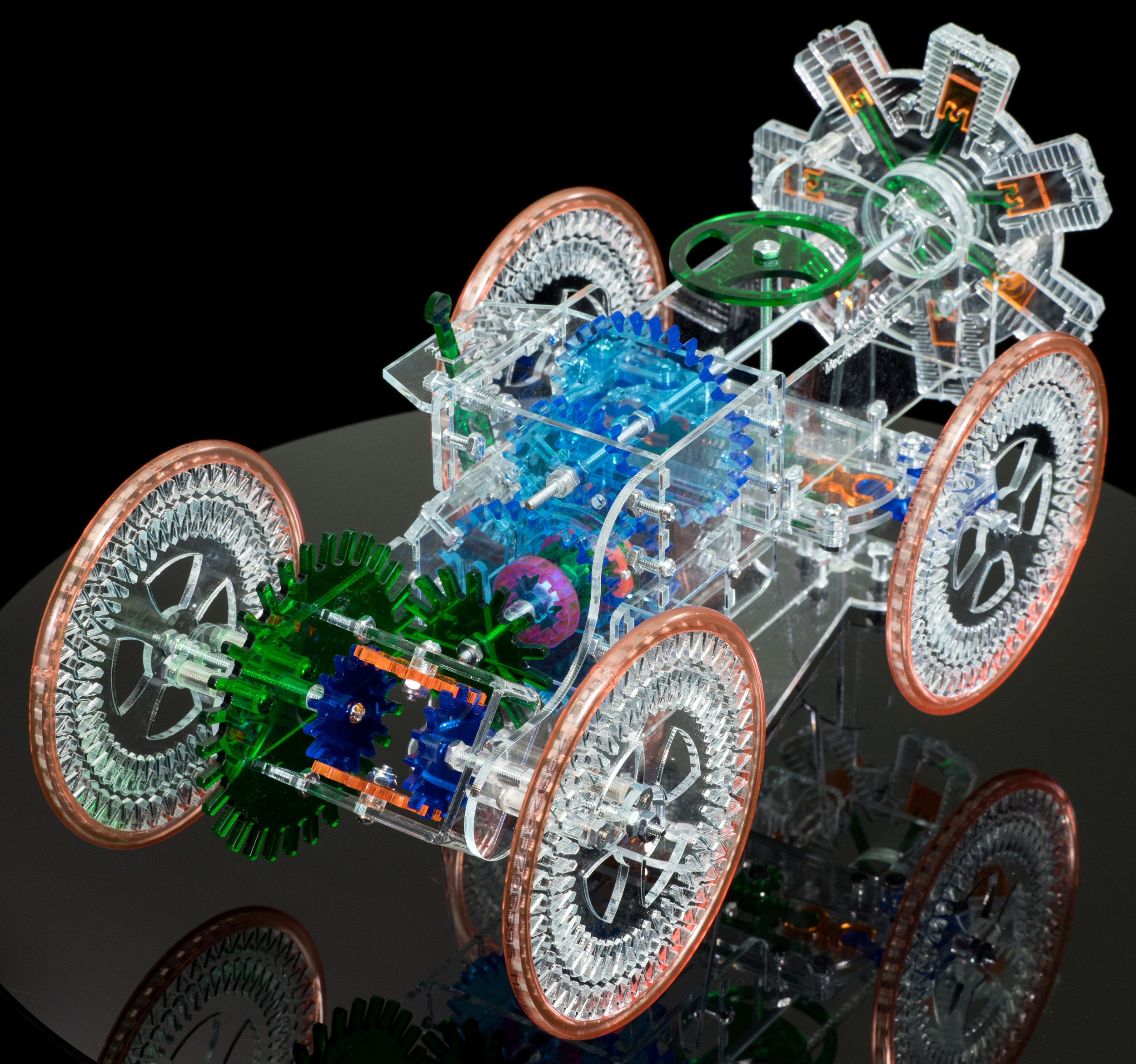 Radial Engine Car