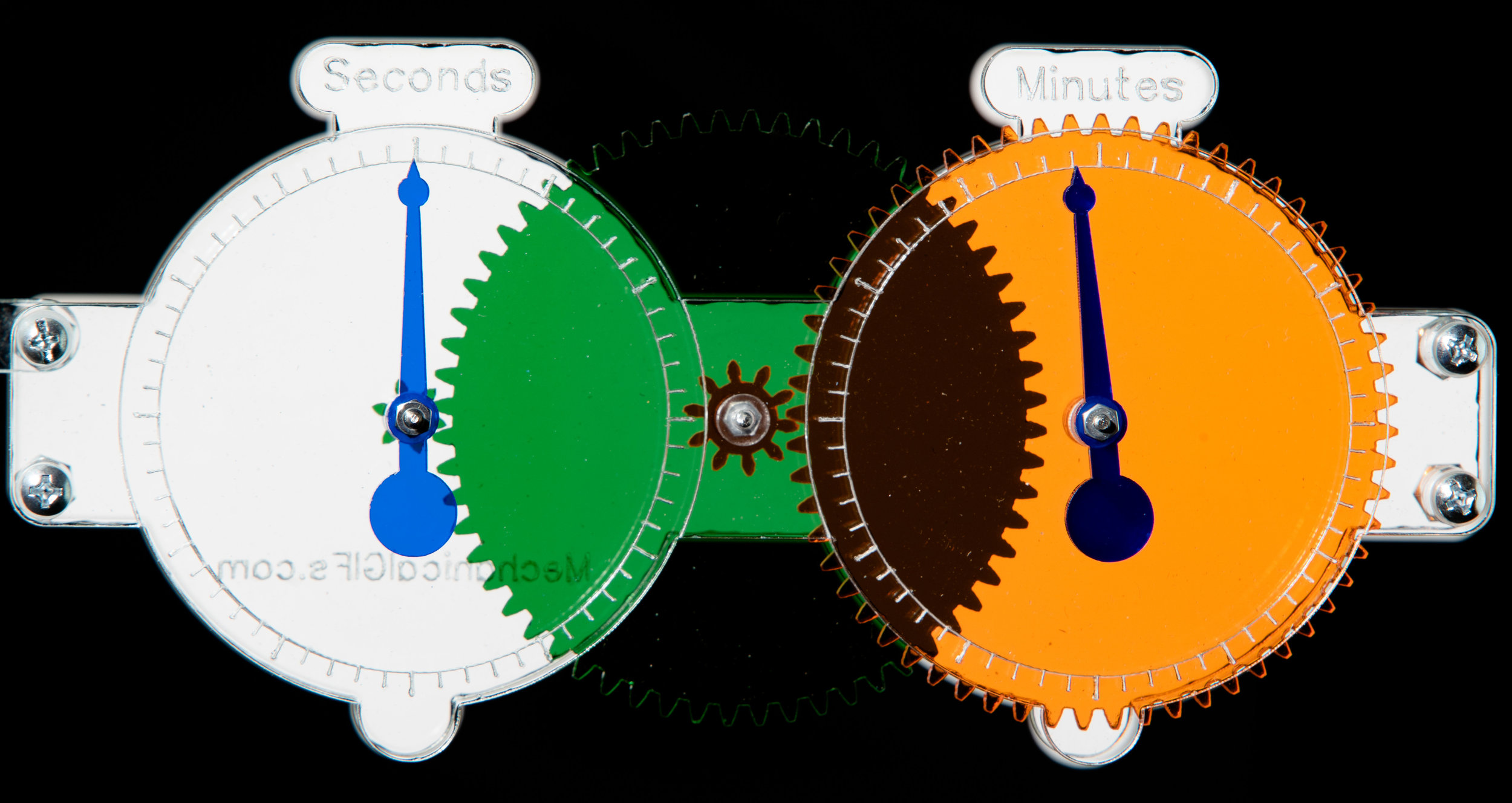 Two-Stage Clock Gear Chain