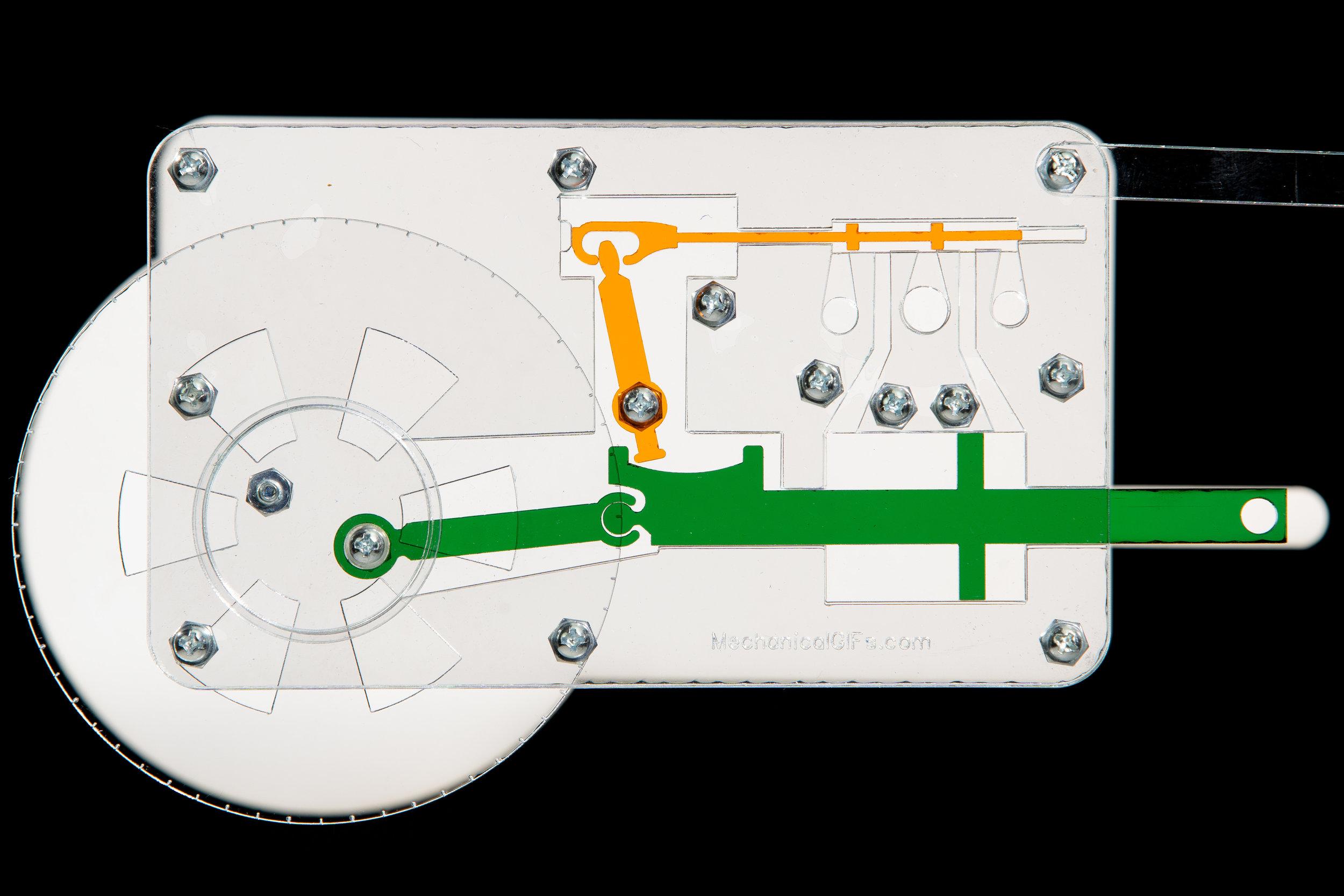 One-Crank Steam Engine