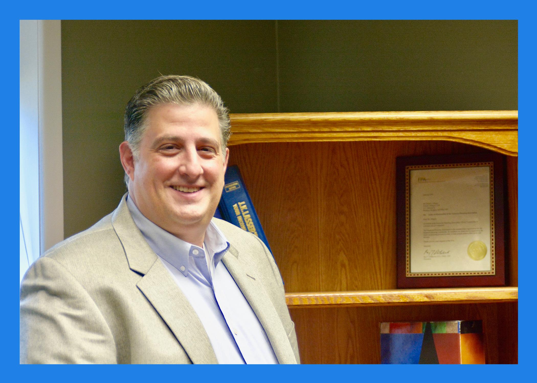 David J. Allegra - CPA, CFP®,CDFA - President