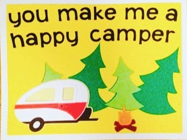 HAPPY VALENTINE'S DAY to all you lovely people!!! #givelove #valentines #camping #happycamper #love