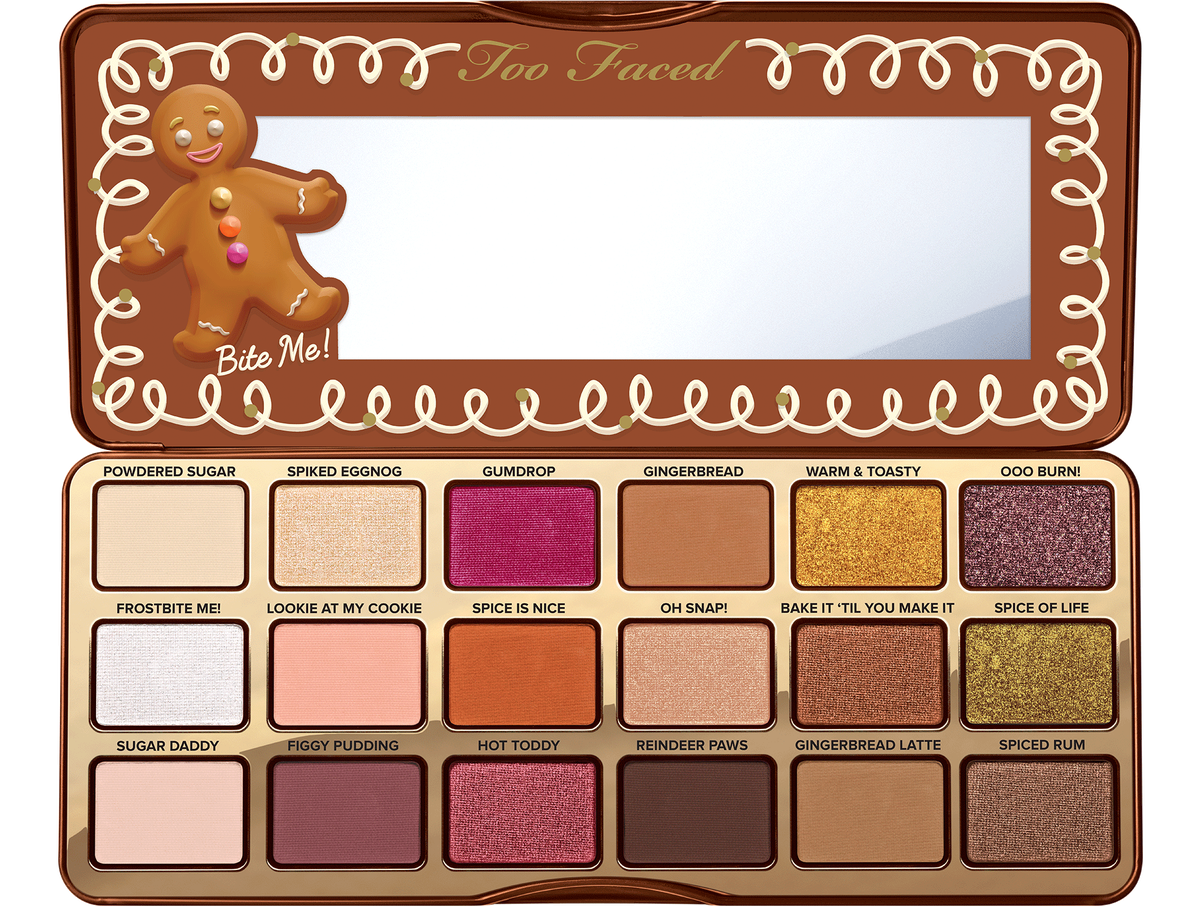 Too Faced Gingerbread Spice Palette, $49