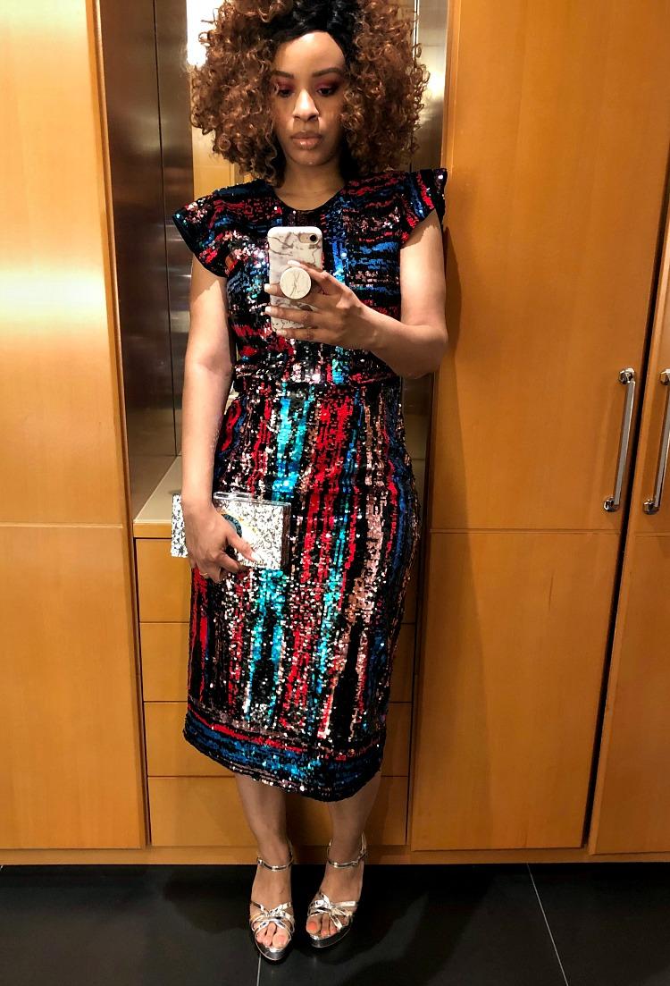 Hunter Bell Sequin Roxy Dress