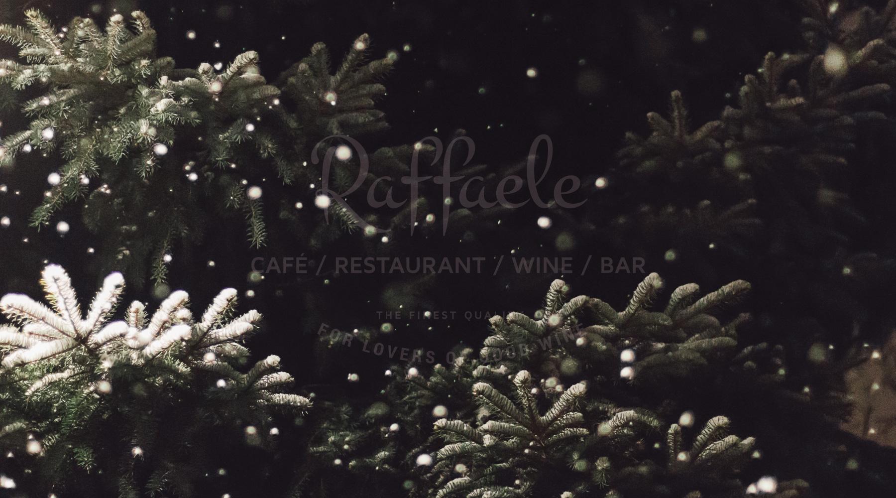 Festive menu -