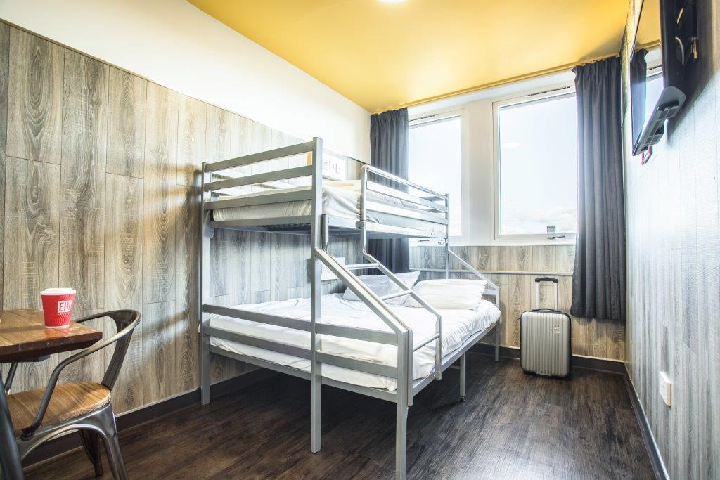 Single over Double Beds