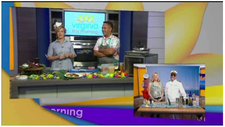 "cbs 6 virginia this morning - ""Richmond Restauranteur and Executive Chef Mike Ledesma, from Perch, stopped by our kitchen and walked us through creating his Yakitori Steak with Chickpea Mint Salad.""Watch the video here!"