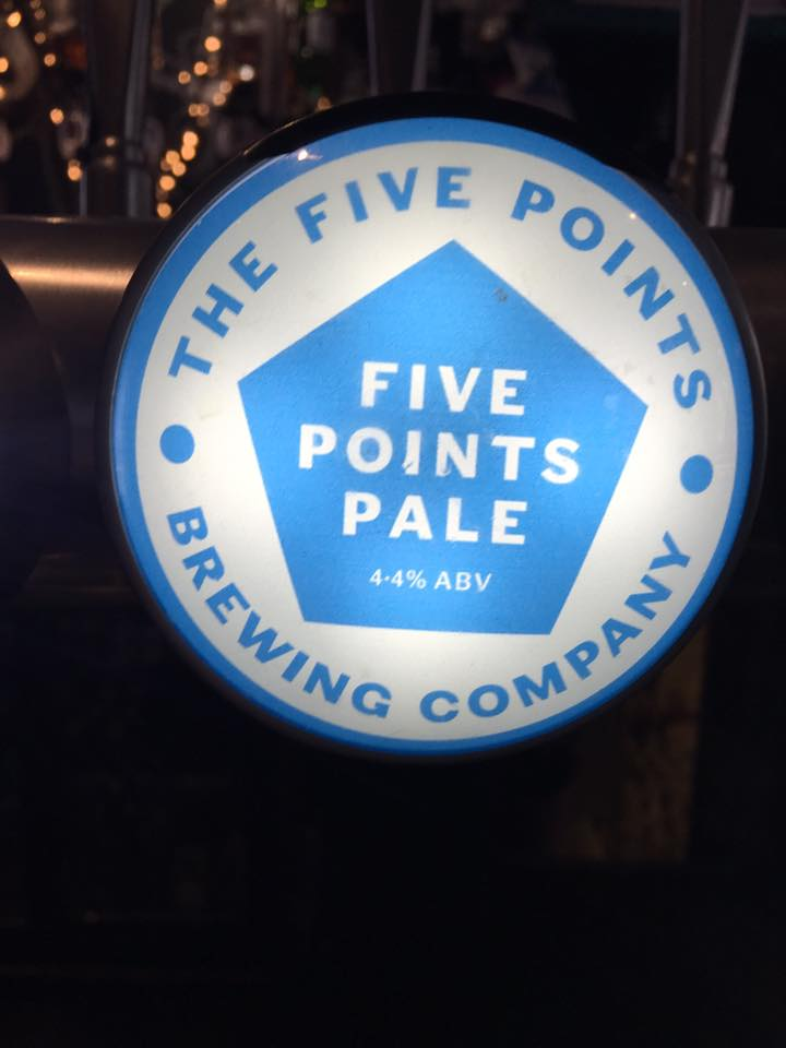 Five Points Pale Ale - 4.4% ABV