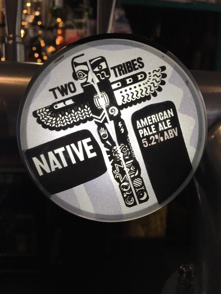 Two Tribes Native American Pale Ale - 5.2% ABV