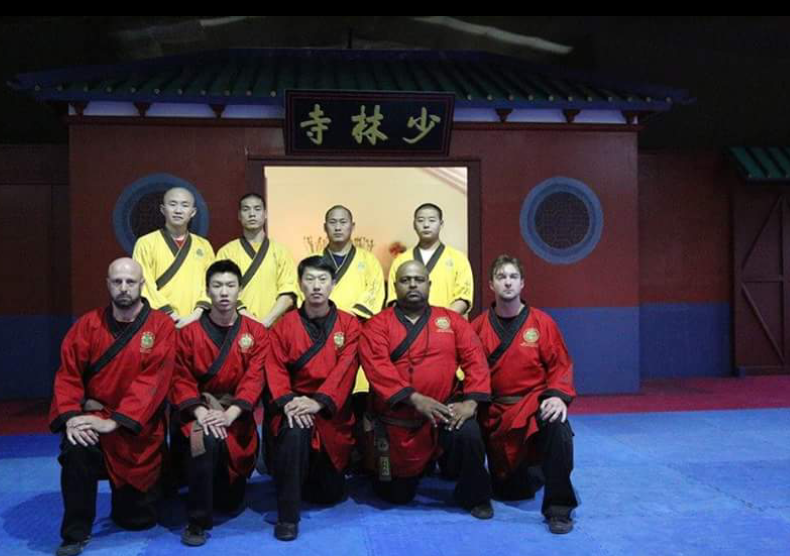 Grand Master Benny Meng receives certification from the Shaolin Temple.