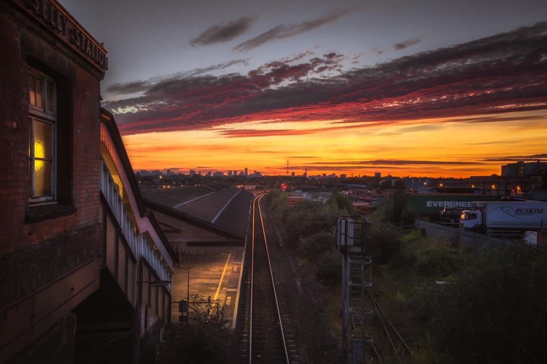 Tyseley Layered Sunset