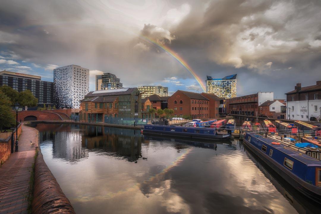 Rainbow Over Gas Street