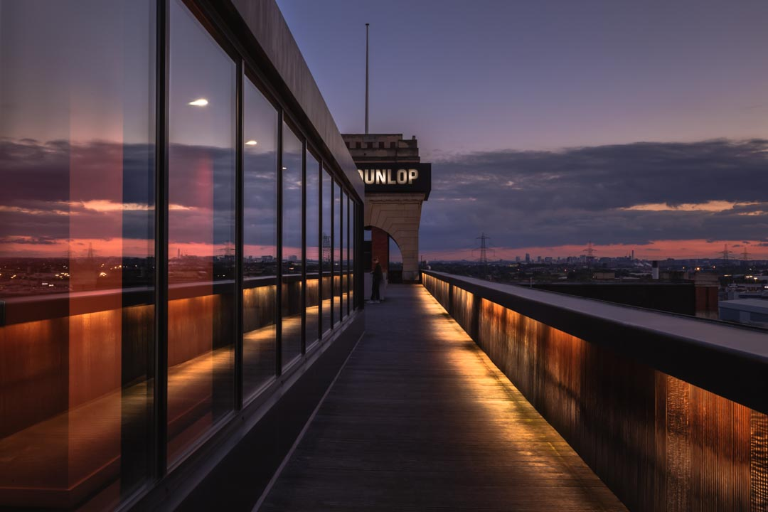 Atop Fort Dunlop