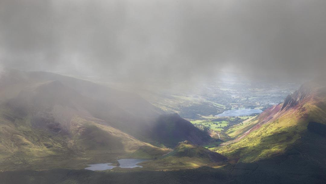 Sunshine Through the Low Cloud