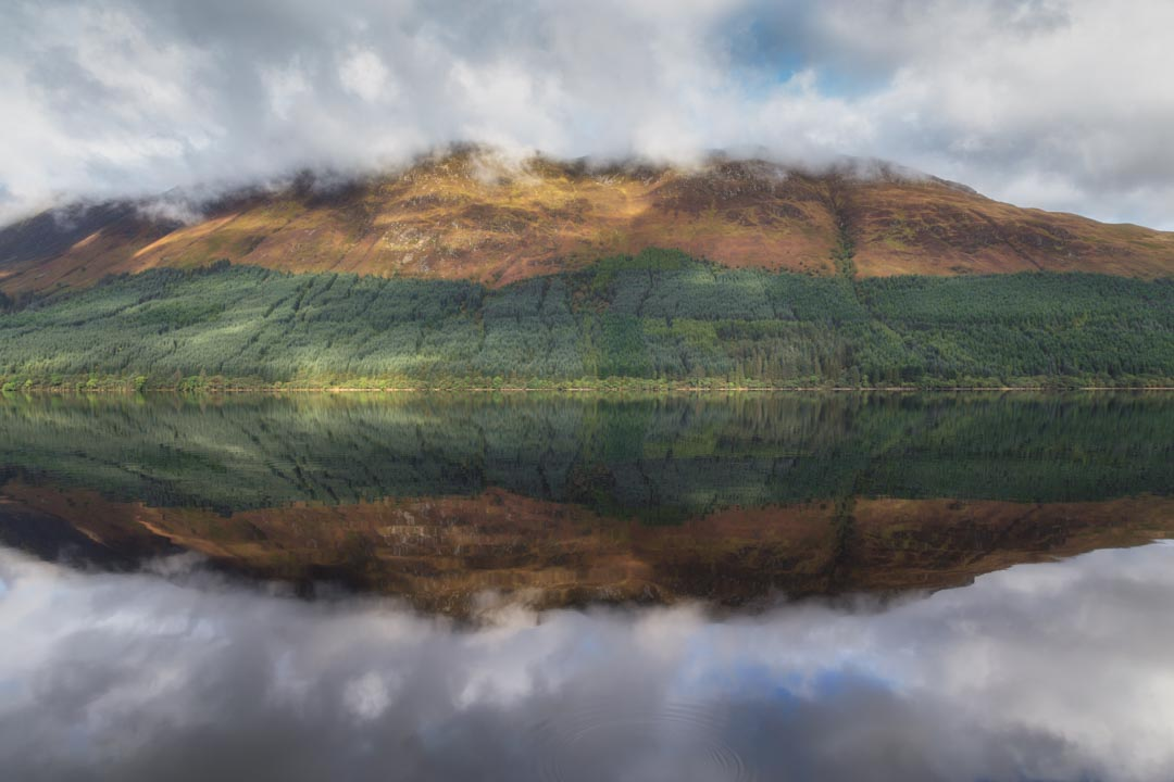 Loch Lochy Reflection No 1