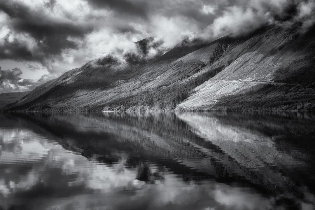 Loch Lochy Reflection No 2 mono