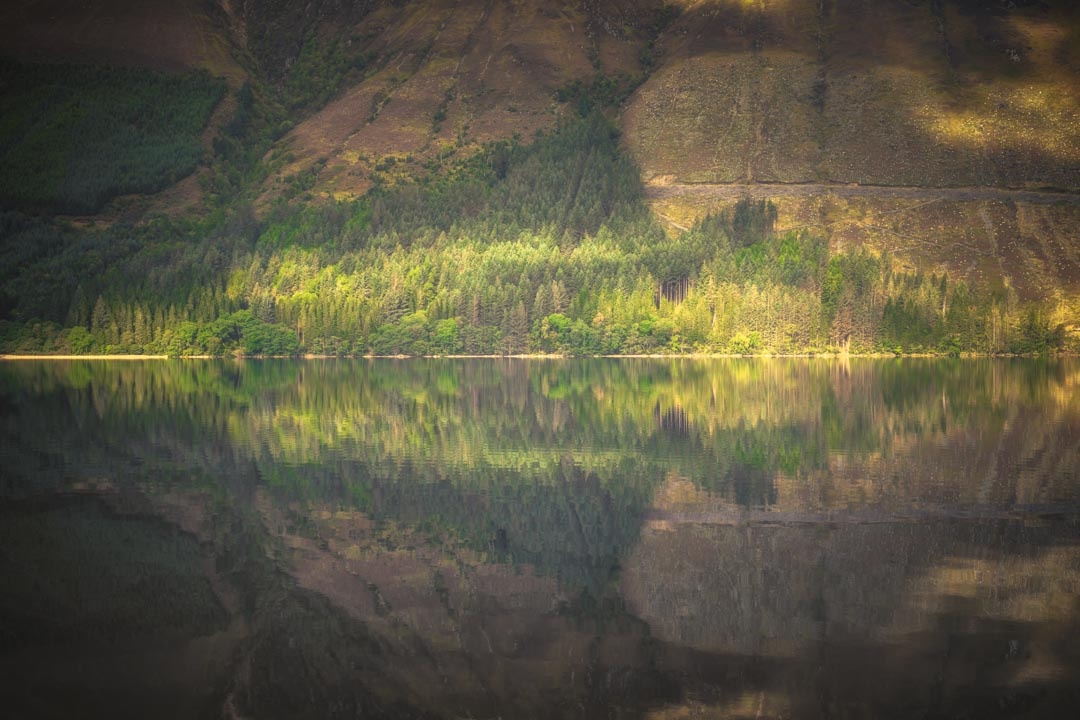 Loch Lochy Reflection No 5