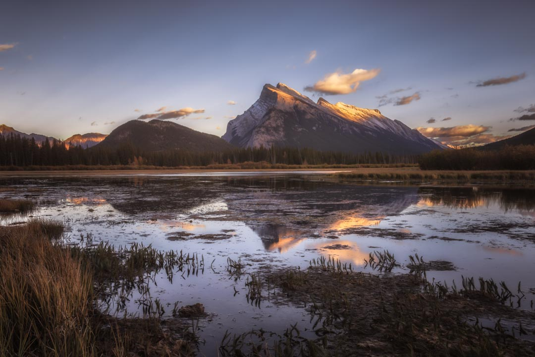 Mount Rundle Sunset No 4