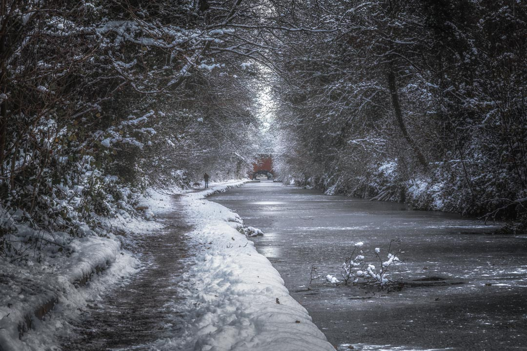 Frozen Canal Walk No 3