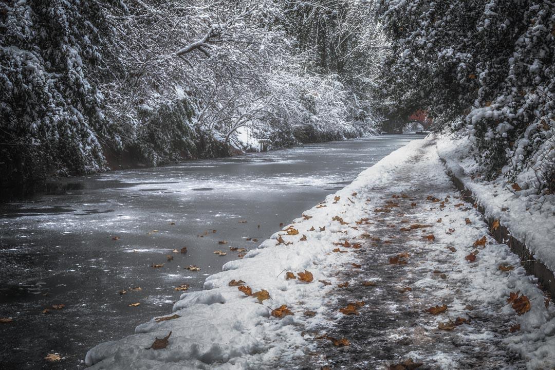 Frozen Canal Walk No 4
