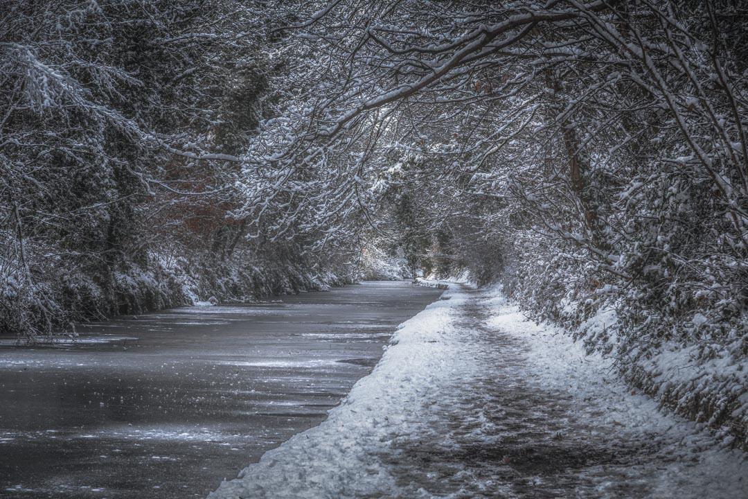Frozen Canal Walk No 1