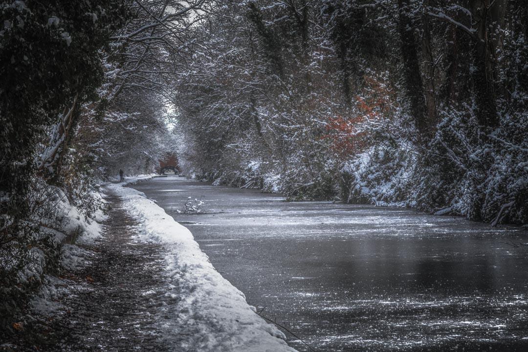 Frozen Canal Walk No 2