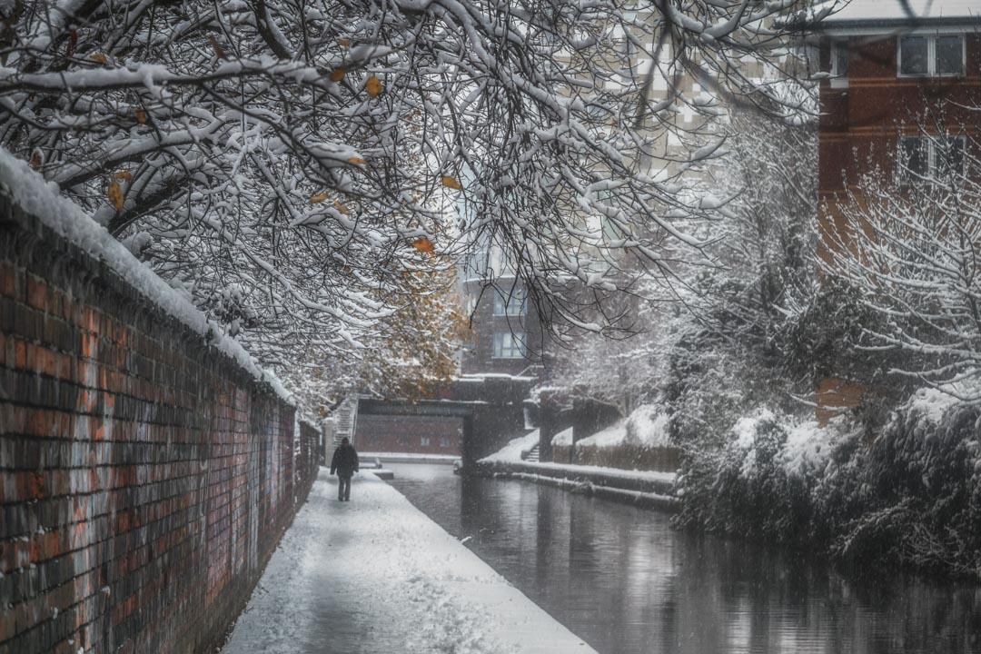Winter in Gas Street
