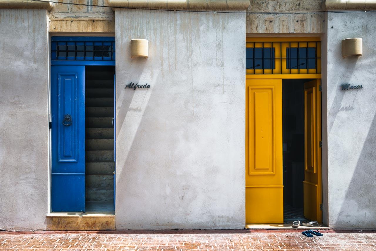 Doors Of Marsaxlokk No 6