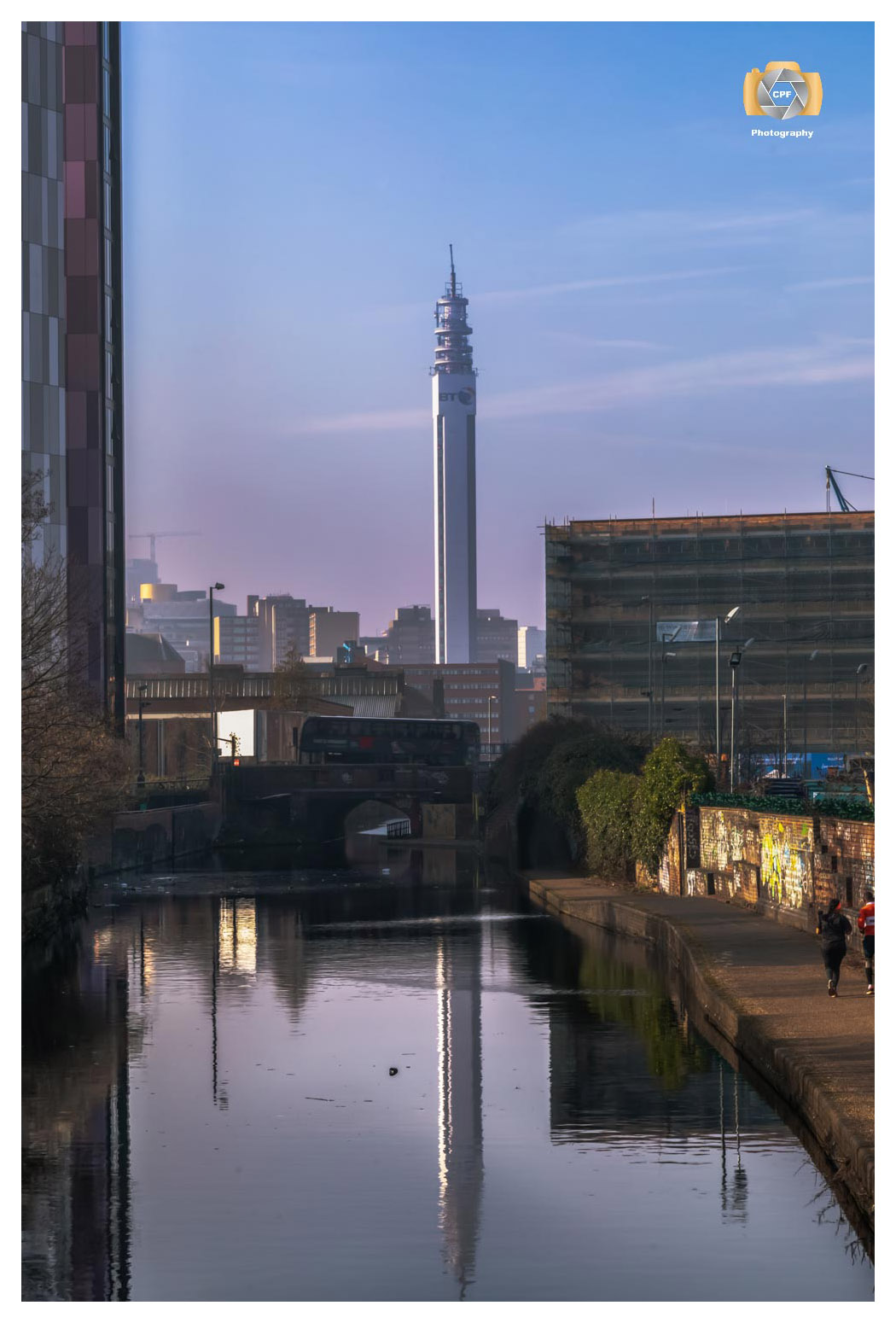 BT Tower Reflections No 3