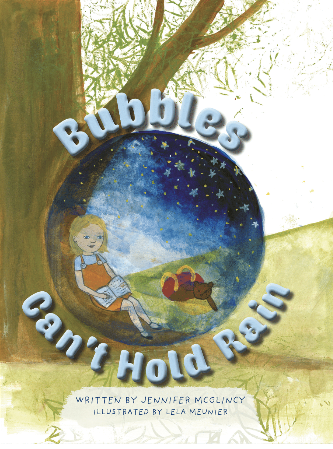 "Kirkus Reviews - ""A little girl learns to step out of her bubble of safety and into the scary world of friendship in this beautifully painted, rhyming picture book from debut author McGlincy and artist Meunier…An imaginative, inspired depiction of emerging from isolation.""-Kirkus Reviews"