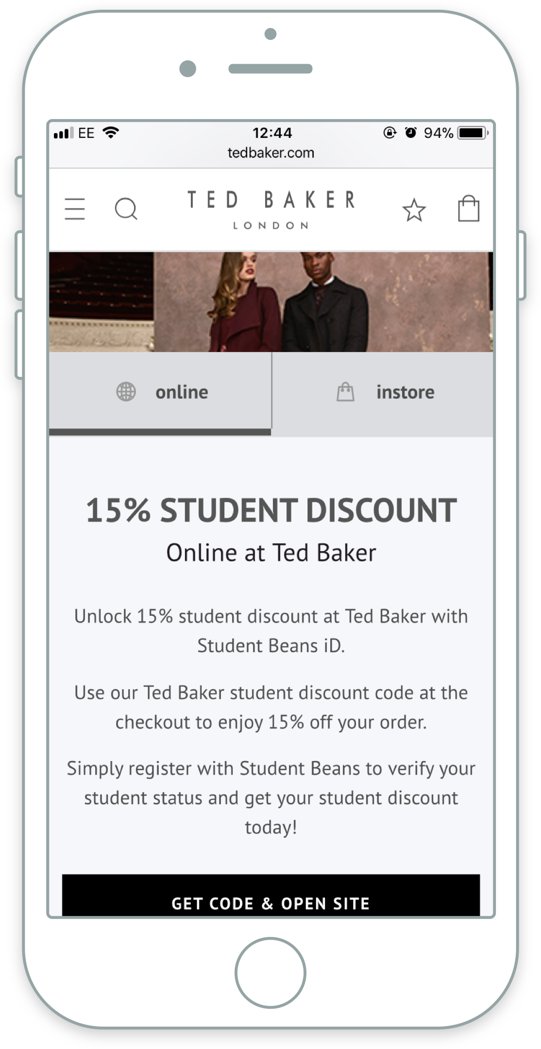 Run a Discount Online - For e-commerce retailers we provide a plug and play tool called Connect, which enables students to verify and access your discount directly via your own website.