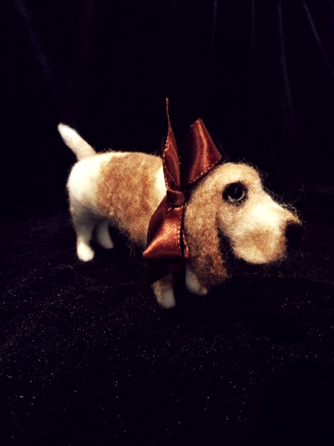 Maisie, the basset hound