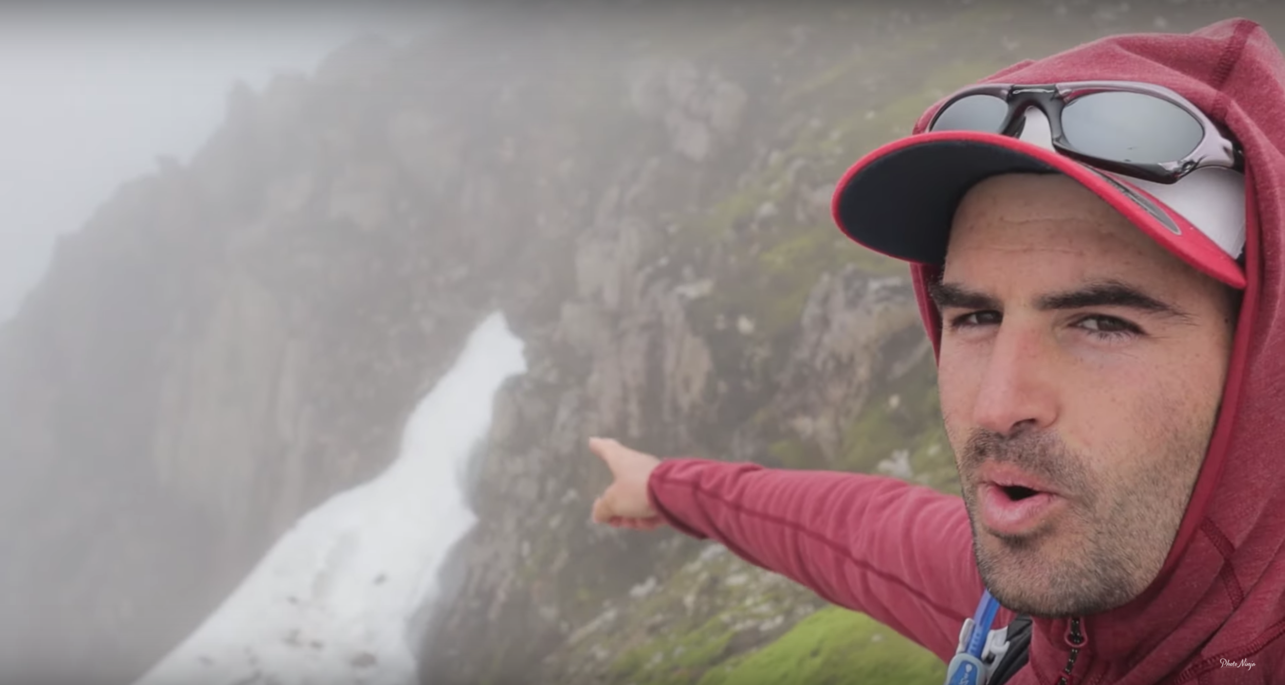 During Tom's Hike up Ben Nevis in Scotland.  Watch the video here!