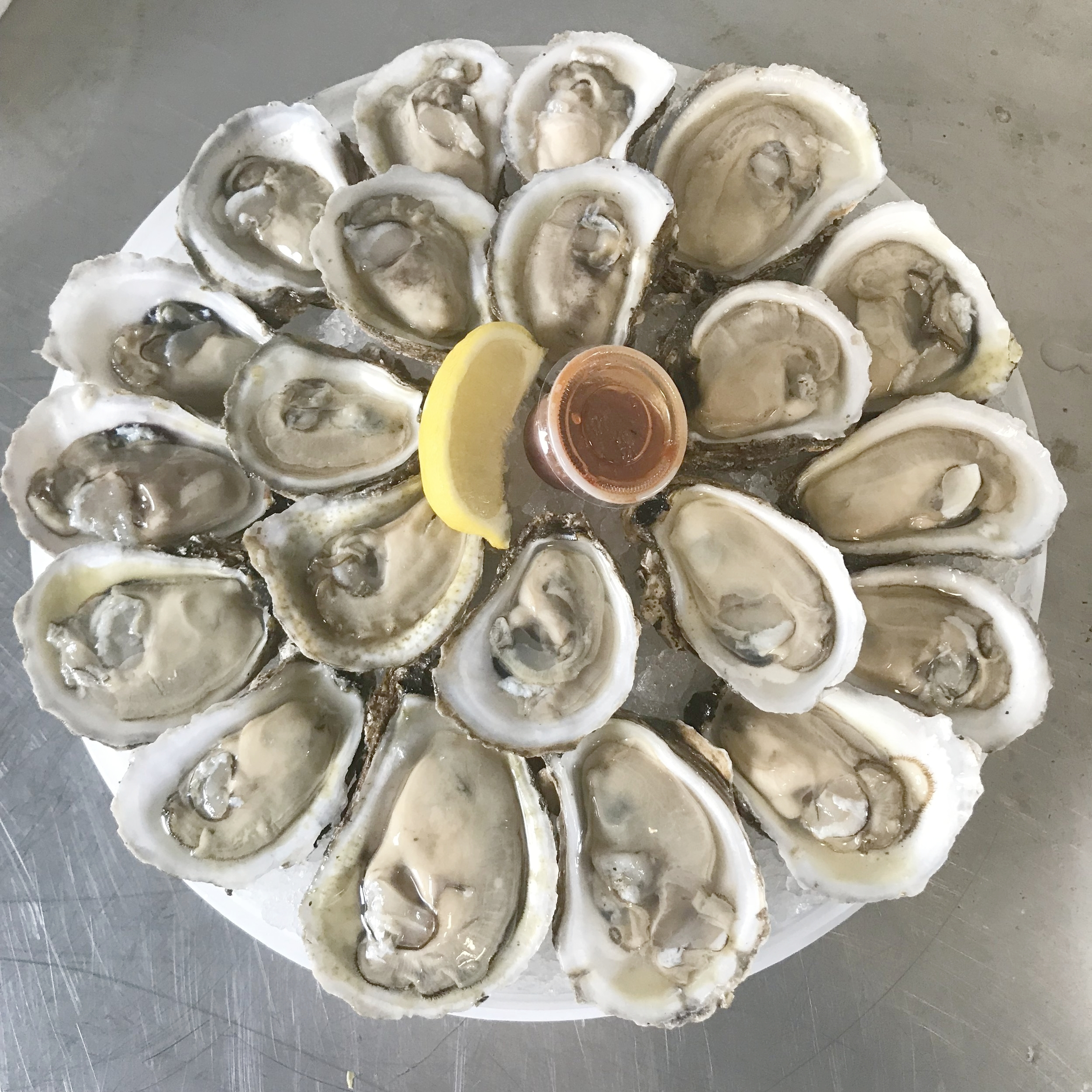 Looking to make Graveling Point oysters your way? You're in luck! Our Fish Market is the only place to buy our oysters retail!