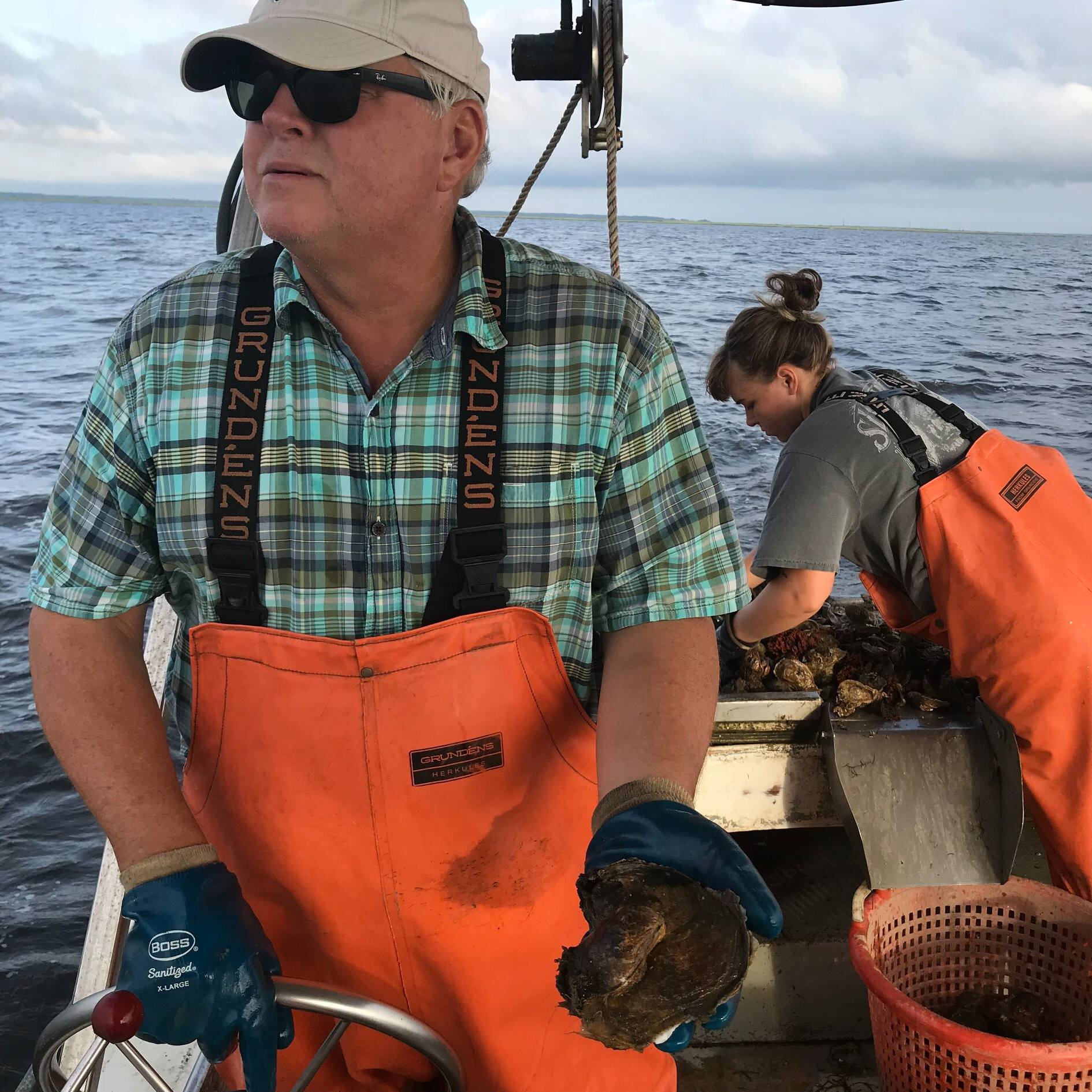 "John J. Maxwell   Working on the bay since he was 7 years old, John took the helm at Maxwell Shellfish in 1981 at 24 years of age. His work on the bay took him from Oysters to Clams and back again. He was co-founder and first president of the New Jersey Shellfisheries Association and currently serves as Chairman of the Atlantic Coast Shellfish Council and on the Marine Fisheries Council.  In 2014 he received the Hurley Conklin Award for a lifetime of achievement in the Barnegat Bay tradition.    Nicknames:  DAD!   Specialties Include:  Being the Boss & Bossing everyone around   Famous Quote:  ""This is the life you've chosen"" or ""Don't worry about me, I've landed an airplane"""