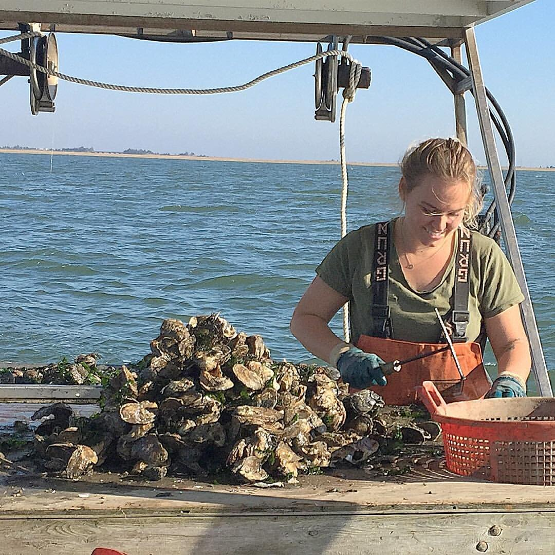 "Bridgitte Maxwell Bliss   Full time oyster lover since 2013, Bridgitte touches everything you eat   Nicknames:  Little Bridgey, Oyster Queen   Specialties Include:  Being the lynchpin in this whole operation   Famous Quote:  ""I don't feel good about this"""