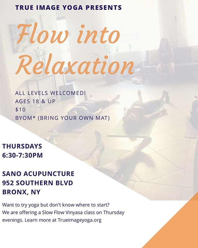 🗣Yerr....I'm thrilled to announce I'll be having weekly classes!! 🙌🏽 * * Next class is Thurs July 11th @ 6:30pm, see you soon 😉 * * You can reserve your spot at: tiny.cc/flowintorelaxationjuly19 (🔗 in bio) * * Classes are $10 & Its a BYOM (Bring Your Own Mat) event. * * #Yoga #BoogieDownYoga #BronxYoga #YogaForEveryBody