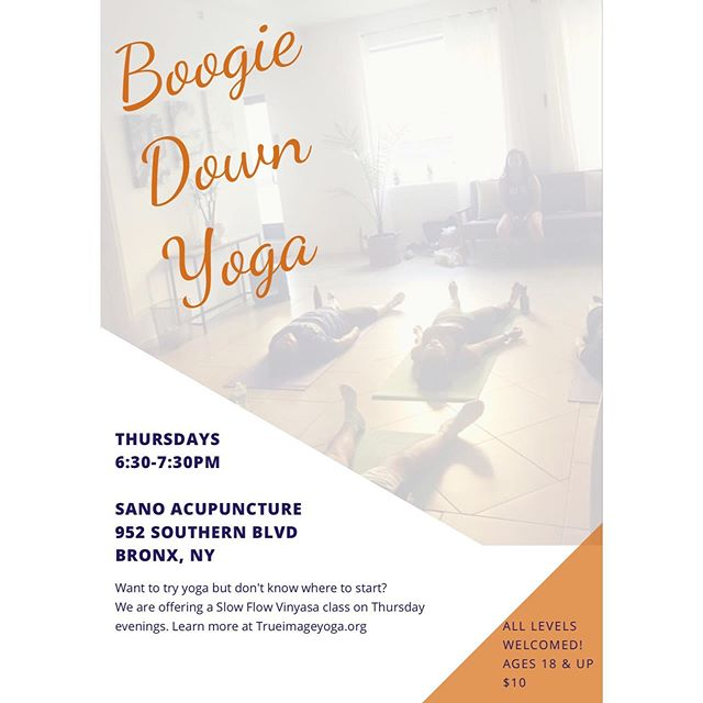 Back at it again tomorrow. Eventbrite link in Bio 😉 * * #BoogieDownYoga #YogaForEverybody #YogaForEveryBody #YogaEveryDamnDay