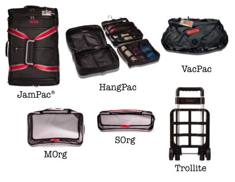 Become 'intelligently lazy' and get what you need when you need them! Seen our JamPac backpack? What about our hybrid overnight/toiletry bag? Our super large OrgPac organisers? Treat yourselves now!