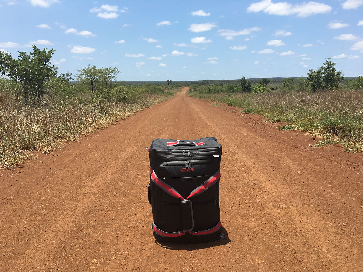 Out in the bush can be a lonely place & our JamPac® is having some good alone time on its journey. We all need that sometimes. Get your own LeanPac® products, they're great company for lone travelling