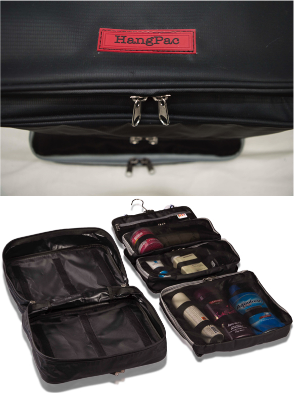 Let the extra large HangPac toiletries bag help you stop the habit of dumping & rummaging! Once you've used this modular packing toiletries bag, nothing else will do!