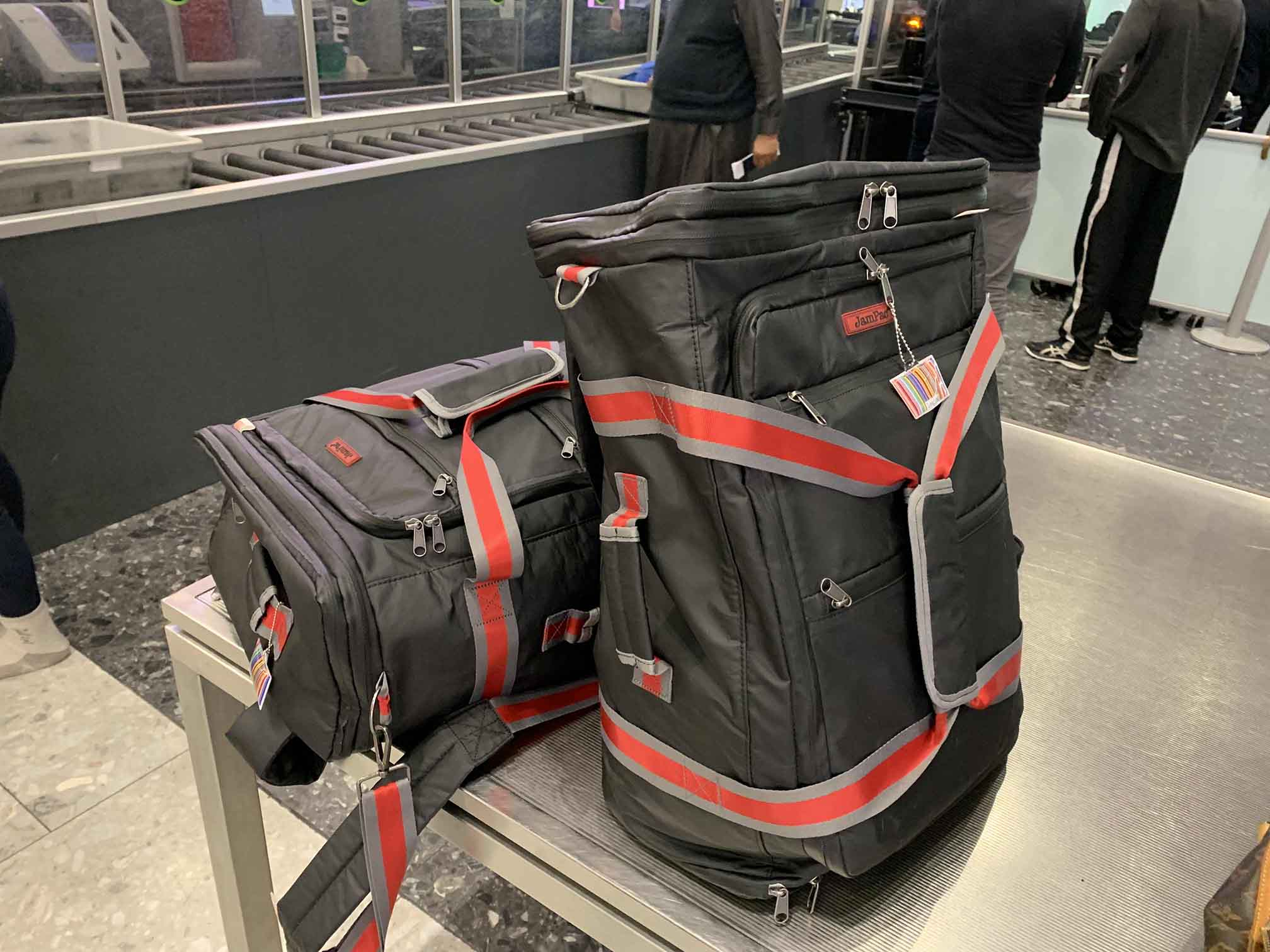 "With multiple access into the bag, the extra large JamPac backpack/holdall is perfect for the ""impatient"" who just wants to get through airport security without holding up the line or being held up 😏"