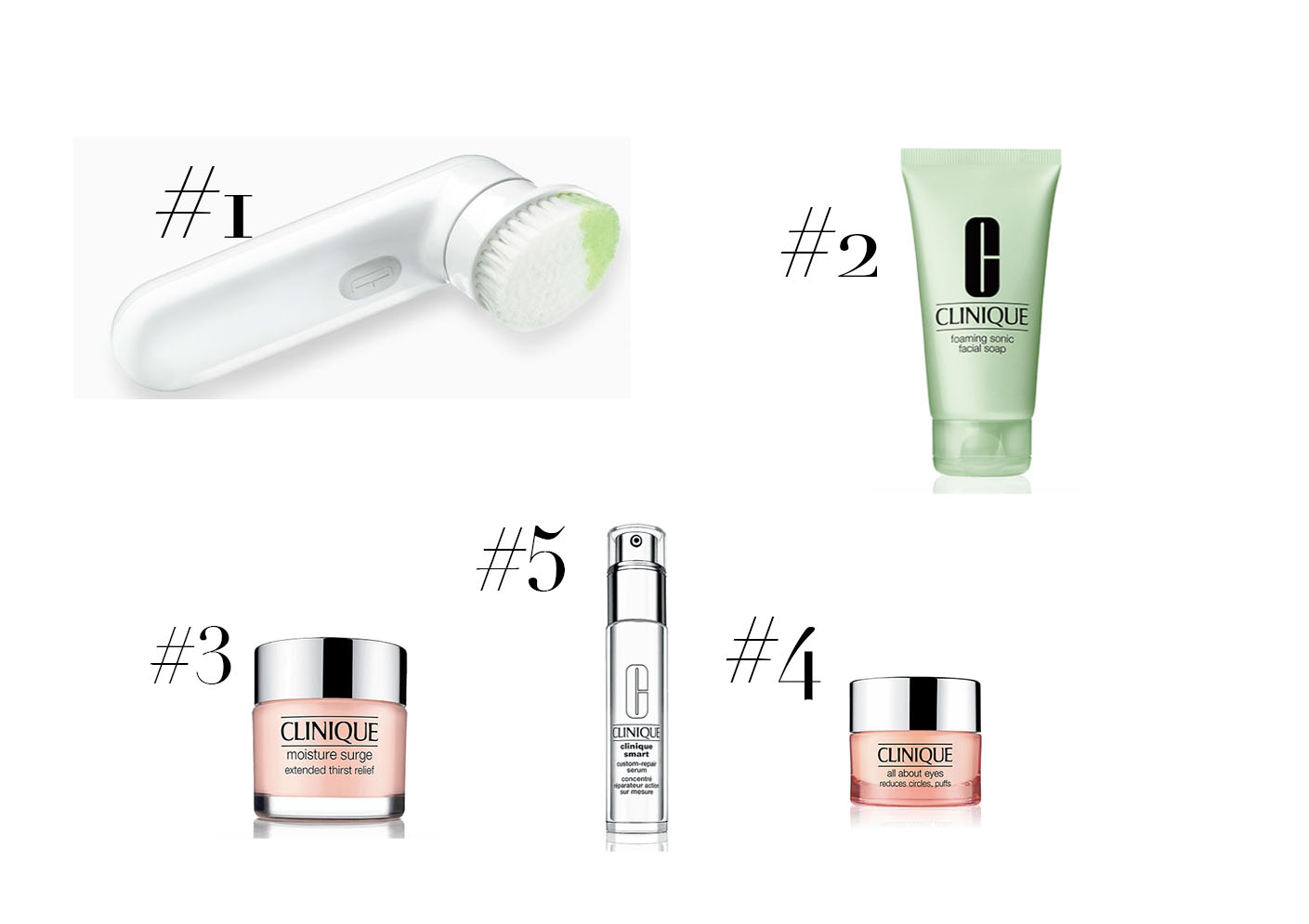 Clinique Skincare Products