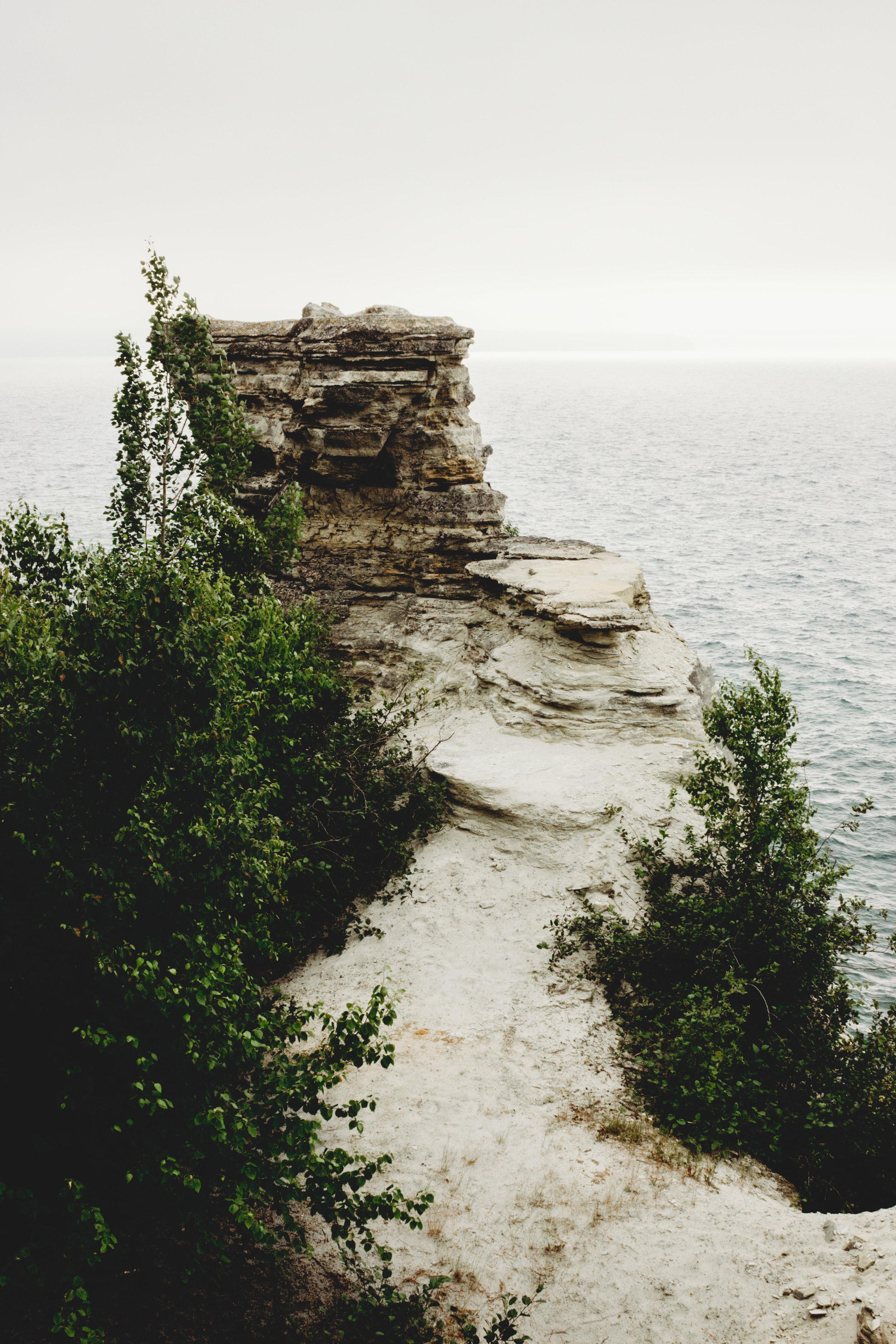 Miners Castle; Lower Overlook
