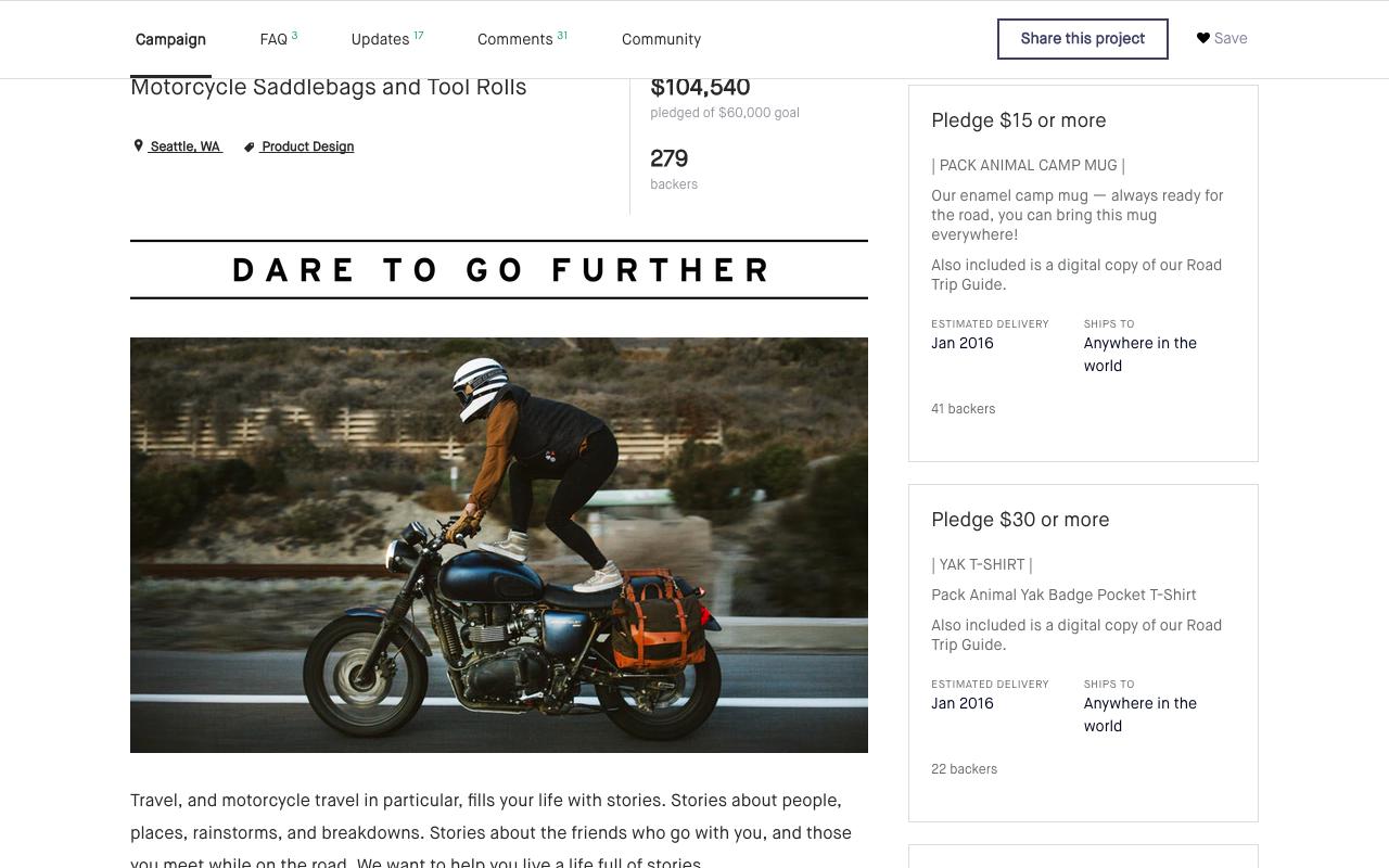 Kickstarter Sponsorship