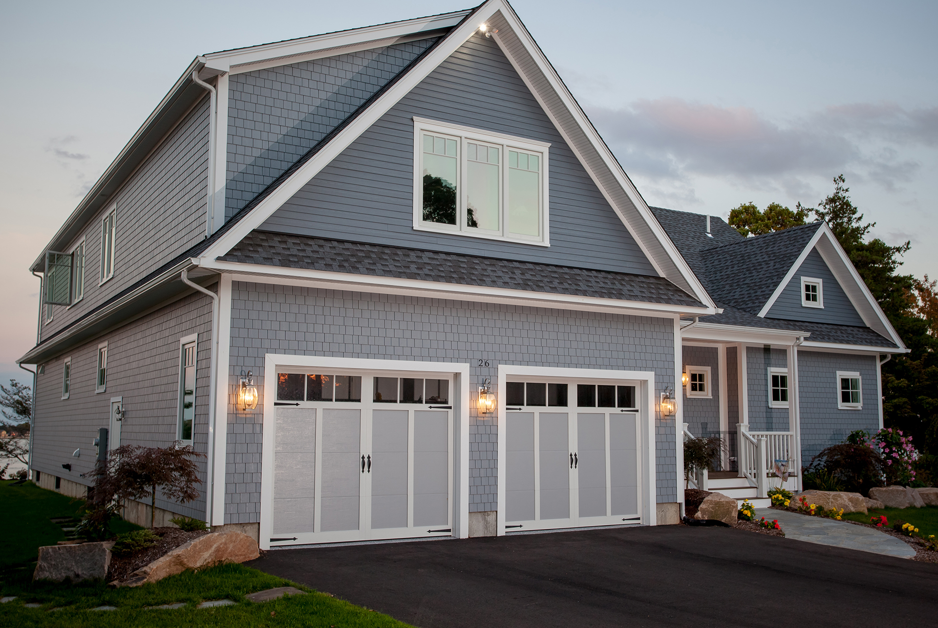 Traditional American Garage Doors in Newton, MA
