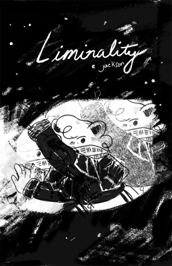 LIMINALITY , 32 pgs, b/w, 2017  part one. part two tba. feris and sloane cope with meeting alternate versions of themselves. scifi.