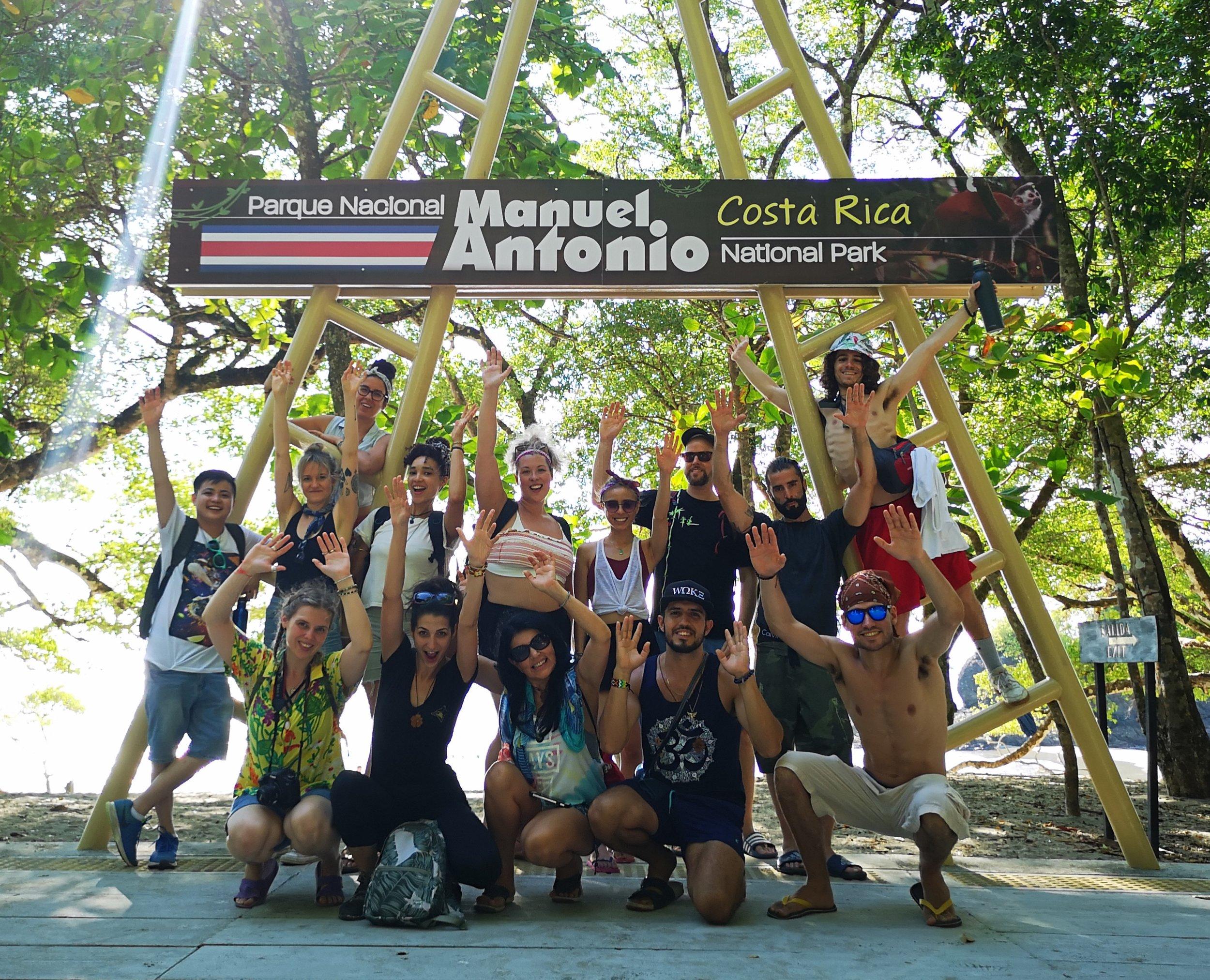 Expansion 2019 group at Manuel Antonio National Park