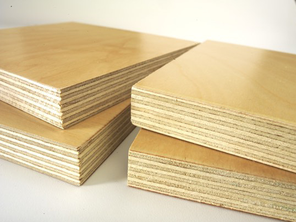 Canusa pre finished plywood