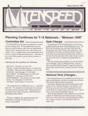 Winter 1990 Issue #2